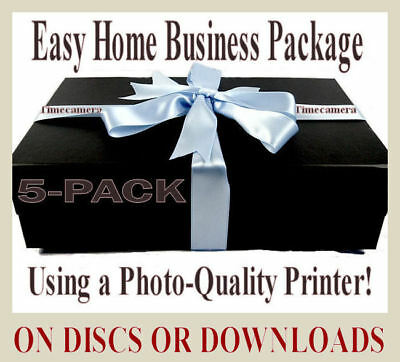 EASY HOME BUSINESS - Print Rare Pictures For Cash! - DISCS OR DOWNLOAD