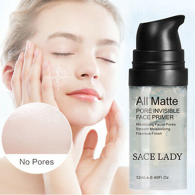 12ml Face Primer Natural Matte Make Up Foundation Pores Cosmetic Skin Oil Smooth