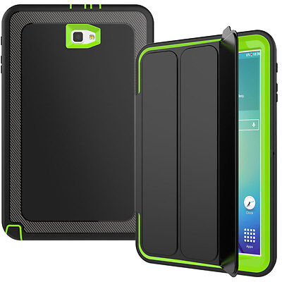 Shockproof Heavy Duty Folio Stand Smart Cover Case For Samsung Galaxy Tab S3 9.7
