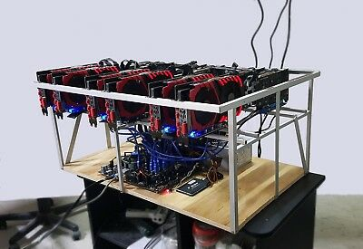 Mining rig Ethereum cryptocurrency 12 GTX1060 Asus B250 minatore 290/mH