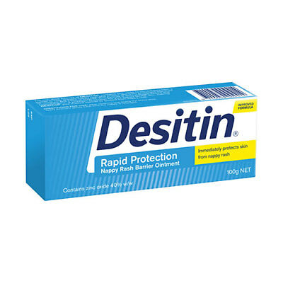 NEW Desitin Nappy Rash Ointment Works As Both Prevention And Treatment 100g