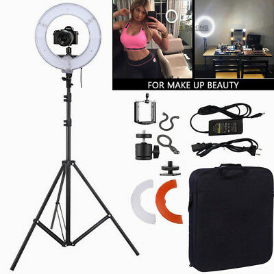 """Studio 14"""" 40W 5500K Dimmable LED Ring Light &Diffuser& Light Stand /Video Photo"""