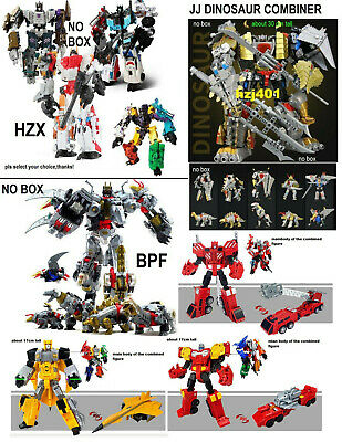 CHOOSE HZX BRUTICUS superion JJ/BPF DINOKING combiner toys for my buyers(no box)