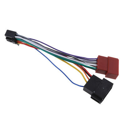 Connettore per cavo radio Pioneer 16-Pin ISO Lead Wiring Loom