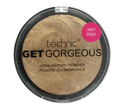 Technic Get Gorgeous Highlighting Powder Ct Gold Shine Control New Design 12g-24
