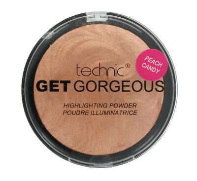 Technic Get Gorgeous Highlighting Powder Peach Candy Shine Control 12g