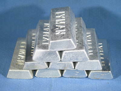 5 Pound Lot of Tin Antimony Scrap Pewter Ingots for Reloading Casting Crafts