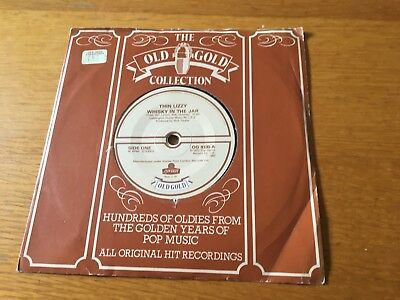 """Thin Lizzy - Whisky In The Jar / The Rocker - Old Gold 7"""" Ex - Lots More Lizzy!!"""