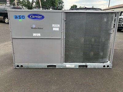 Carrier 10 Ton Heat Pump Rooftop Unit New/Old Stock 50TCQD12A2A6AA0A0A0 - 460-3