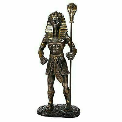 Ancient Egyptian Collectible King Tut With the King Cobra Sceptre Collectible Fi