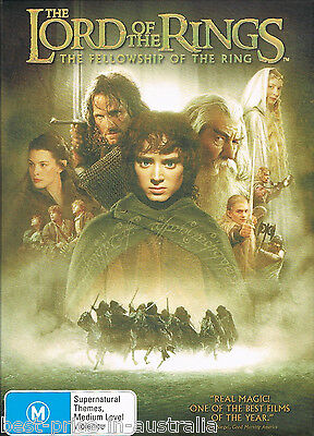 The Lord Of The Rings - The Fellowship Of The Ring DVD TOP 250 MOVIES 2DISC