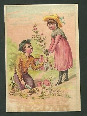 1880s Advertising Trade Card Hun Kee Tea Sold by First Class Grocers