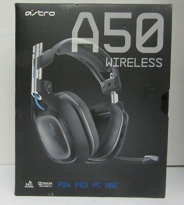 ASTRO A50 Wireless Gaming Headset for PS4/PS3/PC/Mac - Black (2014 model) #102