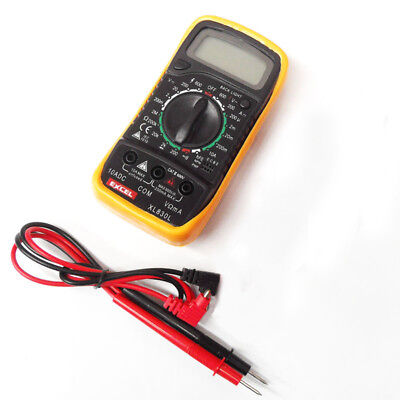 XL830L LCD Digital Multimeter light, AC DC Voltmeter Ohmmeter Multi Tester Y6E1
