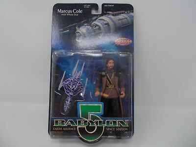 Babylon 5 Marcus Cole with White Star NEW (G13)