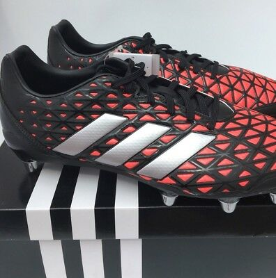 Adidas Kakari Elite Rugby Boots Soft Ground RRP £74.99 Brand New In Box AQ2056