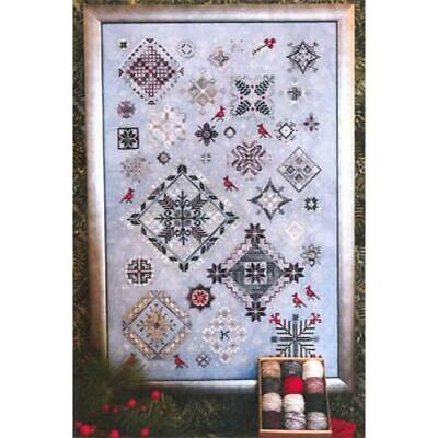 Winter Quakers Sampler Rosewood Manor Cross Stitch Pattern or Kit