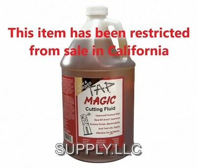 1 Gallon TAP MAGIC CUTTING OIL Drilling Tapping Threading Fluid for All Metals