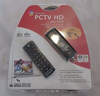 Pinnacle PCTV HD Pro Stick USB2 HDTV Tuner for Free HD