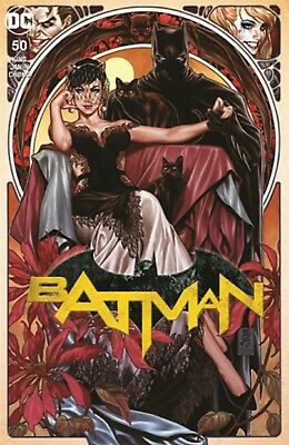 Batman 50 Variant Brooks Trade Selena Limited!! Presale! Dc Catwoman Wedding