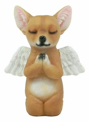 Praying Angel Chihuahua Dog Statue Inspirational Pet Memorial Collection