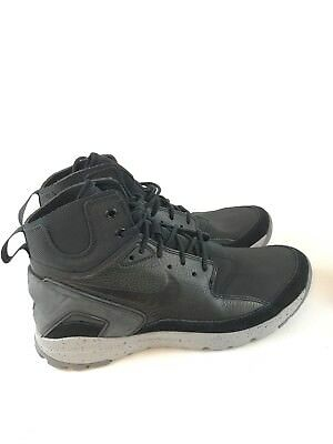innovative design b10c6 cfe39 Nike Mens Koth Ultra Mid Boots High Top 749484-002 Black Silver Grey Size  10.5
