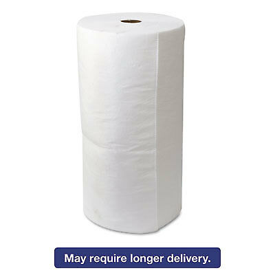"""Env Maxx Enhanced Oil-Only Sorbent-Pad Roll, 54gal, 30"""" X 150ft, White"""