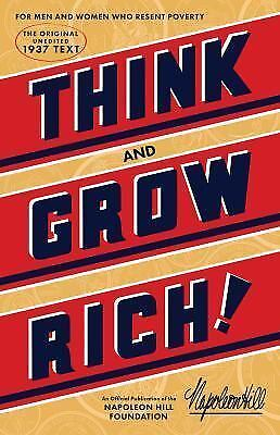 Think and Grow Rich by Napoleon Hill (2016, Paperback)