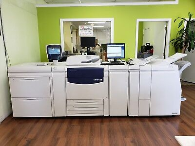 Xerox Color 700 Digital Color Press with Fiery Server.