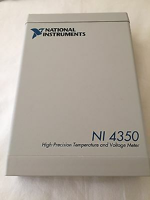 National Instruments NI 4350 High-Precision Temperature and Voltage Meter