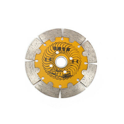 4.5 Inch Diamond Saw Blade Metal Alloy Cutting Disc For Marble Concrete Granite