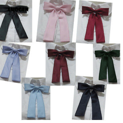 JK Bow Tie Uniform Japanese High School Girls Neck Rope Butterfly Knot Cravat