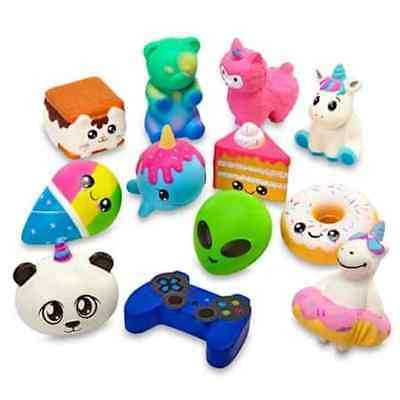 """Squishy Squad Series 2 Strawberry Scented 3"""" Slow Rise Stress Relief Toy"""