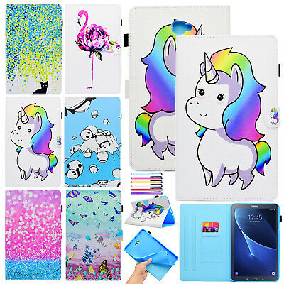 For Samsung Galaxy Tab A 10.1/ 8.0 / S2 9.7 Tablet Slim Case Leather Cover Smart