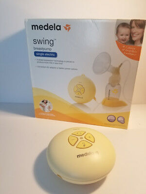 Medela Swing Breast Pump w/ Bottles and Other Accessories- Working