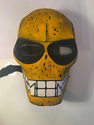 New - Custom Skull Fibreglass Paintball Mask
