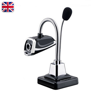 For Laptop Desktop PC USB 2.0 1.4M Wire Web Cam Video Camera With Mic Microphone