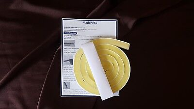 2 x Brother SilverReed Self adhesive replacement sponge knitting machine