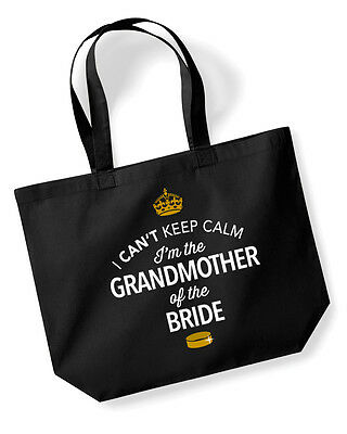 GrandMother Of The Bride Gift Idea Wedding Hen Party Bridal Bag Present Keepsake