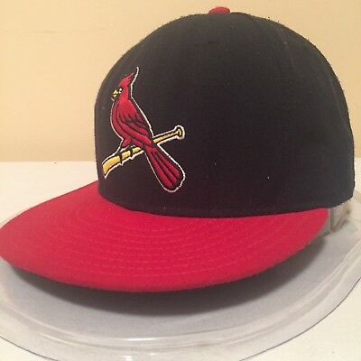 "MLB St.Louis Cardinals 7 3/8"" 59FIFTY Low Profile On Field Fitted Cap by New Era"