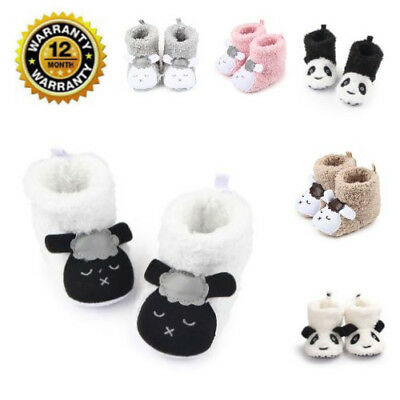 Baby Booties Fashion Cute Lovely Sheep Pattern Soft Infant Cotton Slippers Shoes