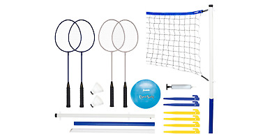 Badminton and Volleyball Outdoor Game Toy for Beach or Park Fun