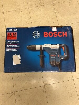 Bosch 13Amp Corded 1-5/8 in.SDS-Max Variable Speed Rotary Hammer Drill 11264EVS