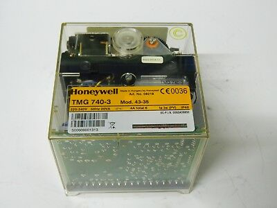 Honeywell TMG740-3 Mod 43-35 Burner Control Unit 240v