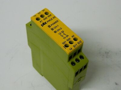 Pilz PNOZ X2 24VAC/DC 2n/o  Safety Relay
