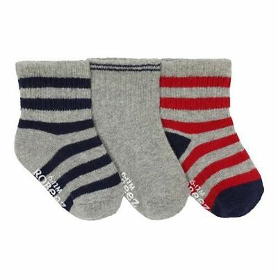 Robeez Infant Boys'   Daily Dave Baby Socks (9 Pairs)