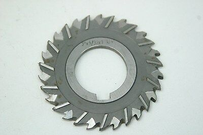 """F/&D Cutting Tools Side Milling Cutter...A-438...3/"""" x 1//2/"""" x 1/"""" HS"""