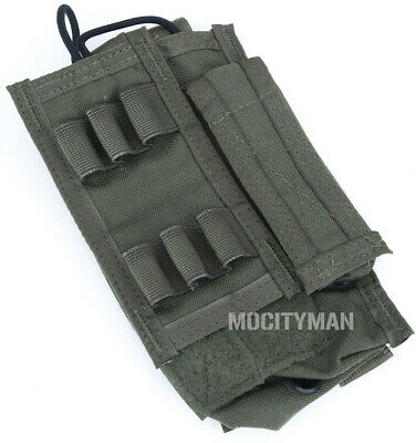 Paraclete MBITR M-Bitter Radio Pouch - Smoke Green - NEW - USA Made