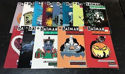Batman Long Halloween #1-13 COMPLETE SERIES SET! DC Comics 1996 VF-NM Loeb Sale