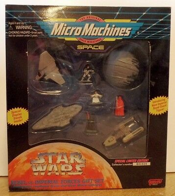 Star Wars Micro Machines Rebel vs Imperial Forces Gift Set
